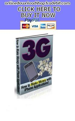 Product picture How To Make Money With I-Phone Applications
