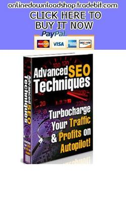 Product picture Advanced SEO Techniques