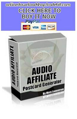 Product picture Audio Affiliate Postcard Generator