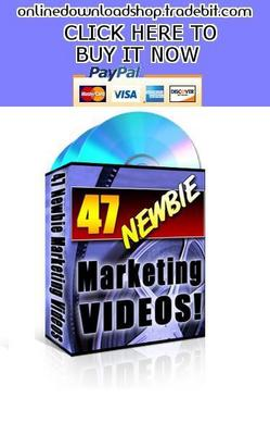 Product picture 47 Newbie Marketing Videos