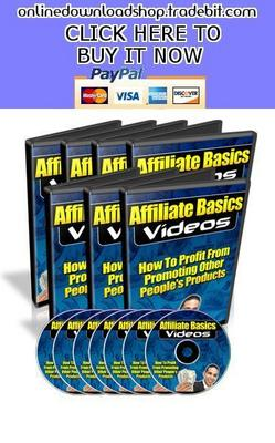 Product picture Affiliate Basics Videos
