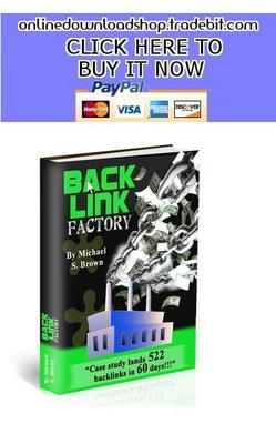 Product picture Backlink Factory