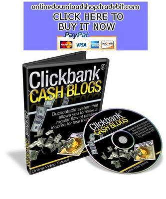 Product picture Clickbank Cash Blogs