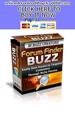 Product picture Forum Finder buzz