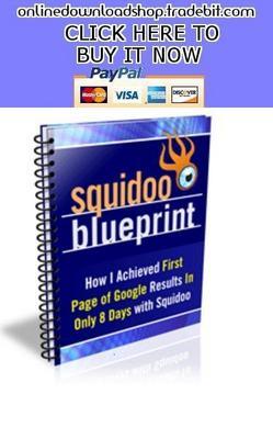 Product picture Squidoo Blueprint