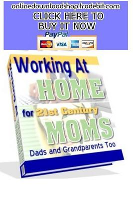 Product picture Working At Home for 21st Century Moms