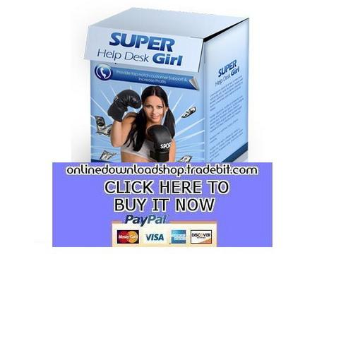 Product picture Super Help Desk Girl