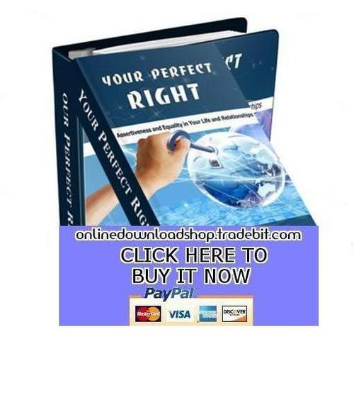 Product picture Your Perfect Right